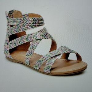 SO Jaye Girl's Gladiator sandals
